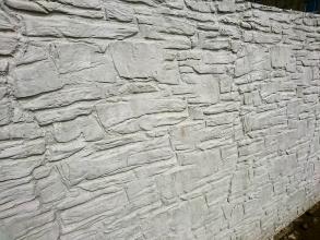 Zoom sur un mur en béton spécial
