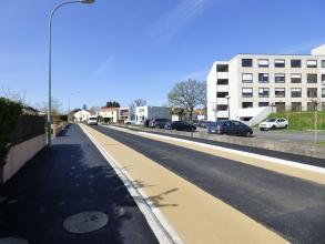 Vue d'un chantier terminé de Blanloeil de l'Hôpital Local à Clisson
